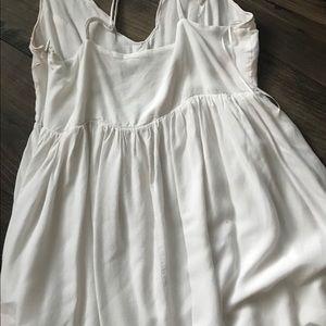 Lulu's Dresses - White Mini Dress (Lulu's)